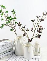 Недорогие -Искусственные Цветы 3 Филиал Классический Стиль Пастораль Стиль Pастений Букеты на стол