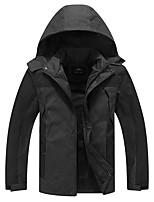 Недорогие -Жен. Куртка для туризма и прогулок на открытом воздухе С защитой от ветра Устойчивость к УФ Дожденепроницаемый Жакет Верхняя часть Скрытая молния полной длины