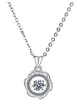 Недорогие -Жен. корейский / Мода ожерелья Серебристый