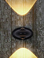 Недорогие -Новый дизайн Современный современный Настенные светильники На открытом воздухе Металл настенный светильник 85-265V 6 W