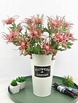 Недорогие -Искусственные Цветы 3 Филиал Классический Простой стиль Пастораль Стиль Вечные цветы Букеты на стол