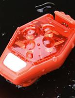 Недорогие -Светодиодная лампа Велосипедные фары Задняя подсветка на велосипед огни безопасности задние фонари Велоспорт Водонепроницаемый Защита от ветра Простота транспортировки Литиевая батарея 150 lm