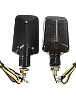 Недорогие -пара 12v мотоцикл мини указатель поворота фары индикаторы лампы