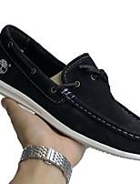 Недорогие -Муж. Комфортная обувь Наппа Leather Весна Мокасины и Свитер Серый / Желтый / Синий