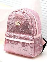 Недорогие -Жен. Мешки Полиэстер рюкзак Молнии Черный / Розовый / Лиловый