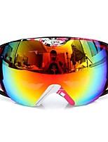 Недорогие -гонки на мотоциклах противотуманные очки двойные линзы на открытом воздухе сноуборд лыжи сноуборд очки