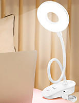 Недорогие -Brelong USB перезаряжаемый сенсорный трехскоростной затемнения с настольной лампой клип 1 шт