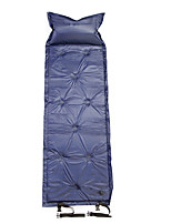 Недорогие -Самонадувающийся спальный коврик Надувной спальный коврик Надувной матрас На открытом воздухе Все сезоны Водонепроницаемость Компактность Влагонепроницаемый 186*58*5 cm Полиэфирная тафта
