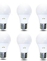 Недорогие -EXUP® 6шт 7 W 680 lm B22 / E26 / E27 Круглые LED лампы 14 Светодиодные бусины SMD 2835 Тёплый белый / Холодный белый 220-240 V / 110-130 V