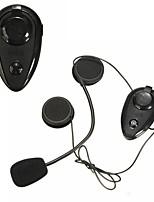 Недорогие -2шт a2dp 500 м bt домофон мотоциклетный шлем домофон гарнитура комплект с функцией Bluetooth 3.0