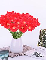 Недорогие -Искусственные Цветы 5 Филиал Классический Стиль Современный современный мак Букеты на стол