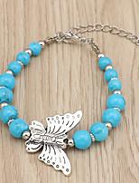 Недорогие -Жен. Мода / Цветной браслет Контрастных цветов