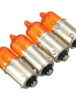 Недорогие -4шт BA9S Мотоцикл Лампы 23 W Галогенная лампа Лампа поворотного сигнала / Предупреждающие огни Назначение Универсальный / Toyota / Mercedes-Benz Все модели Все года