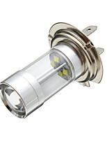 Недорогие -H7 xbd чип 8 светодиодный автомобиль белый противотуманная фара лампа фара drl 700lm 6 Вт