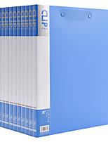 Недорогие -10 pcs M&G ADMN4025 Папки файлов A4 PP Влагоотталкивающий