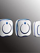 Недорогие -Беспроводное От одного до двух дверных звонков Музыка / Дзынь-дзынь Невизуальные дверной звонок Крепеж на поверхности