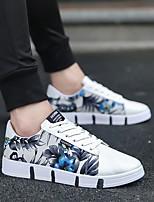 Недорогие -Муж. Комфортная обувь Полотно Лето Кеды Серый / Синий
