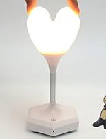 Недорогие -1шт LED Night Light Тёплый белый USB Творчество 5 V