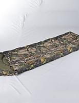 Недорогие -CNDF® Спальный мешок на открытом воздухе Прямоугольный 0 °C Пористый хлопок С защитой от ветра Дожденепроницаемый Ультралегкий (UL) Пригодно для носки Не натирает Мягкость для
