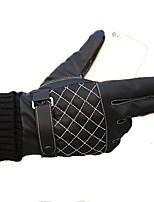 Недорогие -Полныйпалец Универсальные Мотоцикл перчатки Кожа Сенсорный экран / Сохраняет тепло