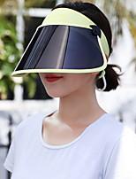 Недорогие -Жен. Праздник Шляпа от солнца Контрастных цветов