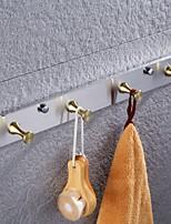 Недорогие -Набор аксессуаров для ванной / Держатель для полотенец / Крючок для халата Новый дизайн / Многофункциональный Античный Латунь / Нержавеющая сталь 1шт - Ванная комната На стену