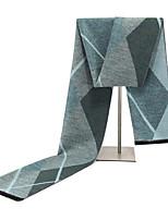 Недорогие -Муж. Классический Прямоугольный платок - С кисточками Контрастных цветов