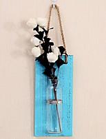 Недорогие -Искусственные Цветы 0 Филиал Классический Стиль Modern Ваза Цветы на стену