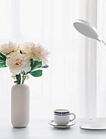Недорогие -Brelong USB зарядки Smart Bluetooth голосовое управление сенсорный индукции настольная лампа для чтения белый 1 шт.
