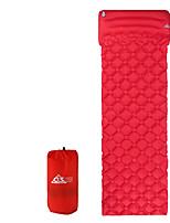 Недорогие -Надувной спальный коврик Надувной матрас На открытом воздухе Все сезоны Компактность Легкость Влагонепроницаемый 60*192*4 cm ТПУ Восхождение Походы Альпинизм