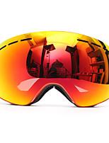 Недорогие -сноуборд анти-туман лыжные очки двухслойный объектив сферическая уф-защита мотоцикла
