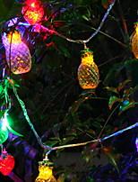 Недорогие -5 метров Гирлянды 20 светодиоды Разные цвета Декоративная 5 V 1 комплект