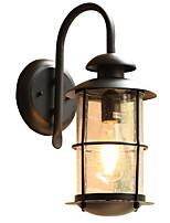 Недорогие -Cool Винтаж Настенные светильники На открытом воздухе Металл настенный светильник 220-240Вольт