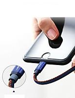 Недорогие -Подсветка Адаптер USB-кабеля Быстрая зарядка Кабель Назначение iPad / iPhone 100 cm Назначение Нейлон / TPE
