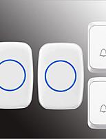Недорогие -Беспроводное Два-два дверных звонка Музыка / Дзынь-дзынь Невизуальные дверной звонок Крепеж на поверхности