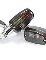 Недорогие -пара металлических указателей поворота ходовых задних задних мотоциклетных лампочек стоп-сигнала