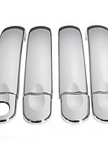 Недорогие -8шт хромированная нержавеющая сталь дверной ручки комплект отделки для VW Транспортер T5 Caddy