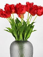 Недорогие -Искусственные Цветы 1 Филиал Классический Современный современный Тюльпаны Букеты на стол