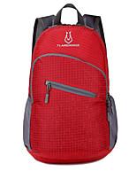 Недорогие -35 L Легкий упаковываемый рюкзак Рюкзаки - Легкость Быстровысыхающий Пригодно для носки На открытом воздухе Пешеходный туризм Походы Командные виды спорта Полиэстер Красный Зеленый Синий