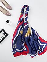 Недорогие -Муж. Квадратный платок - С кисточками С принтом