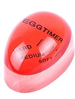 Недорогие -Резина Kitchen Timer Themometer Творческая кухня Гаджет Кухонная утварь Инструменты Для Egg 1шт