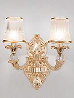 Недорогие -Cool Современный современный Настенные светильники Спальня Стекло настенный светильник 220-240Вольт