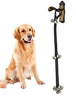 Недорогие -Собаки Животные Поводки Расклешенные Тренировки Собаки и коты Нейлон Металл Черный