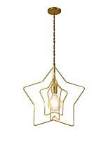 Недорогие -геометрический Люстры и лампы Рассеянное освещение Окрашенные отделки Металл Новый дизайн 110-120Вольт / 220-240Вольт