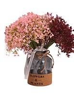 Недорогие -Искусственные Цветы 1 Филиал Классический Стиль Свадебные цветы Перекати-поле Букеты на стол