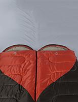 Недорогие -CNDF® Спальный мешок на открытом воздухе Прямоугольный Кубический 0 °C T / C хлопок Терилен Дожденепроницаемый Ультралегкий (UL) Быстровысыхающий Воздухопроницаемость Пригодно для носки Мягкость для