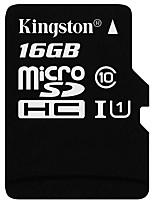 Недорогие -Kingston 16 Гб Карточка TF Micro SD карты карта памяти Class10