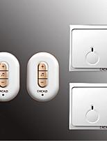 Недорогие -Беспроводное Два-два дверных звонка Музыка / Дзынь-дзынь Невизуальные дверной звонок