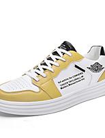 Недорогие -Муж. Комфортная обувь Полиуретан Весна Кеды Красный / Белый / синий / Белый / Желтый