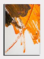 Недорогие -Холст в раме / Набор в раме - Абстракция Пластик Иллюстрации